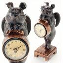 ぶたの置物 置き時計 置時計ぶたの時計 豚の時計 ブタの時計 ぶたさんの置き時計