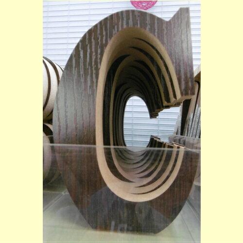 木製アルファベットC
