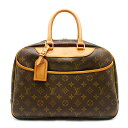 【中古】ルイヴィトン Louis Vuitton LV M47270 ドーヴィル モノグラム ハンドバッグ A4サイズ対応 ※匂い有り【質屋鑑定品】