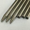 ◆パラコード用ニードル・ひも通し・編棒◆4mm用/長さ7.7cm/スチール製◆3本セット◆