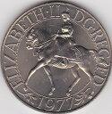イギリス エリザベス2世在位25周年 1977年