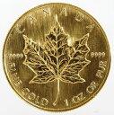 カナダ メイプルリーフ 1オンス50ドル金貨 1993年