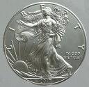 アメリカ イーグル1ドル銀貨 2017年 未使用