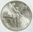 メキシコ PLATA PURA銀貨 1オンス 1983年 未使用