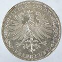ドイツ フランクフルト アム マイン 2THALER銀貨(3-1/2 GULDEN)1842年 未使用