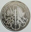 オーストリア ウィーンフィルハーモニー 1.5ユーロ銀貨 1オンス 2017年