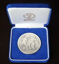 2002FIFA WORLD CUP 日韓ワールドカップ 記念貨幣発行記念メダル130g 平成14年(2002)