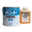 コニシボンド E206 3kgセット 自動式低圧樹脂注入工法用・揺変形エポキシ樹脂