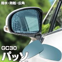 ブルーミラー パッソ GC30 撥水レンズ ワイド 左右 2枚 セット (送料無料)