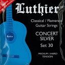 Luthier ¡Ú¥Í¥³¥Ý¥¹or ¤æ¤¦¥Ñ¥±¥Ã¥ÈÂоݾ¦Éʡۥ륷¥¨¡¼¥ë LU-30 [CONCERT WHITE SILVER - MEDIUM/HARD TENSION]¡ÚÆüËÜÁíËÜŹ2F¡Û