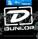 DUNLOP Stainless Steel Bass Strings Medium 5-130 [DBS45130] (45-130) 《5弦ベース弦》【ネコポス】