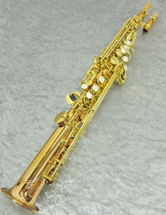 YanagisawaS-WO20新品ソプラノサックスヤナギサワブロンズブラス製ヘヴィータイプ管楽器専