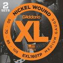 D'Addario EXL160TP Nickel Round Wound - Twin Packs 《ベース弦》 ダダリオ