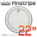 "REMO Pinstripe 22""(56cm) 〔PS-322BB〕《ドラムヘッド》レモヘッド【ONLINE STORE】"