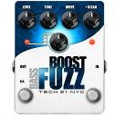 TECH21 SansAmp Bass Boost Fuzz 《ベース用エフェクター/ファズ》【送料無料】【ONLINE STORE】