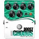 TECH21 SansAmp Bass Boost Chorus 《ベース用エフェクター/コーラス》【送料無料】【マーキングシールプレゼント】