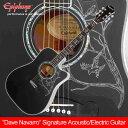 "Epiphone ""Dave Navarro"" Signature Acoustic/Electric Guitar[EEDNEBNH1]【送料無料】【ONLINE STORE】"