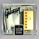 Gibson Gear Burstbucker Pro (Bridge) / Gold [IM59B-GH] 《パーツ・アクセサリー/ ピックアップ 》【ギブソン純正】【ONLINE STORE】