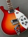 """年間を通しても非常に入荷数の少ない『Rickenbacker 620 Jetglo』が待望の入荷です! ビートルズの登場はロックの歴史に大きな足跡を残し、今も尚多くのミュージシャンに影響を与え続けています。 Rickenbaker社は1931年に世界初のエレキギター『フライングパン』を発表。 同社の源流はさらに遡りますが、ジョン・レノンやジョージ・ハリスンが同社のギターを使用した事はRickenbaker社にとって、そのギターメーカーとしての歴史の中で特筆すべき大きな出来事であり、その名を世界に轟かせることとなります。 同時代、また後世に続く名立たるミュージシャン達に広く愛用されてきたRickenbacker。 ポール・ウエラー、ピート・タウンゼンド、ジョニー・マー、トム・ペティ、ロジャー・マッギン、ブライアン・ジョーンズ、グレン・フライ、ゲム・アーチャー、ジョン・ケイ等、錚々たる顔ぶれです。 同社の600シリーズにラインナップされている『620』は、ボディの両側が中空のセミホロウ構造になっている300シリーズとは違い、ソリッドボディを持ったシリーズで、ハウリングに強くサスティンも豊かで煌びやかなクリーントーンが特徴と言えます。 勿論、ソリッドボディですので、ハイゲインピックアップとも相俟って、パワフルに歪ませるエフェクターとの相性も抜群です。 また、メイプルボディ、メイプルスルーネックという材・構造は前述のサスティンの豊かさや歯切れの良いトーンをアウトプットするのに重要な役割を果たしています。 メイプルボディ、メイプルネック、ミディアム・スケール、21フレット、ナット幅41.4mm、指板R10インチ、ハイゲインピックアップ、2ボリューム・2トーン、フィフス・コントロール等のスペック。 2ボリューム・2トーンはギブソン社のレス・ポール等と同様ですが、その配置が逆になっており、高音弦側にボリュームを置き、低音弦側にトーンを置いています。 ボリューム回路はセレクタースイッチがセンターのときにフロントPUとリアPUのブレンドが可能なミックス回路。 また、フィフス・コントロールはフロントPUに作用するブースターで、ツマミが全開のときはフラット、絞るにつれて中低音と共に音量が上がる仕組みとなっています。 また、リック・オー・サウンド(Rick O Sound)と呼ばれるステレオアウトプットとモノラル(通常使用)の二系統を装備し、フロントとリアピックアップの音を別々に出力が可能なほか、サウンドメイクにも幅があります。 メイプルで構成されたボディとネック、ローズウッド指板、ハイゲインピックアップから繰り出されるサウンドは、硬質で輪郭のハッキリとした鮮やかな音色、歪ませても分離感のあるサウンドはリッケンバッカーならではのもので、バンドの中でも決して埋もれることの無い煌びやかさと手に馴染むネックシェイプとが相俟ってギターボーカルやバッキングではそのポテンシャルを遺憾無く発揮します。 620使用アーティストとしは、海外ではグレン・フライ(イーグルス)、エド・オブライエン (レディオヘッド)、ゲム・アーチャー (オアシス)らが印象的です。 国内では森高千里氏がPVの中で、椎名林檎氏の楽曲『丸の内サディスティック』に620が登場しています。 カラーは王道の『Fireglo』。 重量 約 3.51kg ハードケース付属 メーカー正規保証 主な仕様 Body:Solid Maple w/Binding Neck:Maple, Through body Fingerboard:10""""Radius w/Binding Fret Marker:Triangle No Frets:21 Scale Length:24 3/4"""" Nut Width:1.63"""" Pickups:2 Hi-gain Pickup Hardware:Schaller Machine Head, 6 Saddle Bridge, """"R""""Tailpiece Case:Standard Hard case Color:Fireglo 〜通信販売をご利用のお客様へ 〜 掲載商品売却の際、迅速にサイトから削除するよう心がけておりますが、 ショッピングページの更新にタイムラグが生じる場合がございます。 万一ご注文後に売切れとなっておりました場合は、誠に恐れ入りますがご容赦ください。 店舗での試奏やご購入をお考えの方は事前にTEL、またはメールにてご連絡いただければ確実です。 -------------------------------------------------------------------------------- 黒澤楽器店 G-CLUB SHIBUYA 〒150-0043 東"""