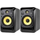 KRK V Series 4 Near Field Monitors V8《ニアフィールドモニター》【1ペア】【11月発売・ご予約受付中】【送料無料】