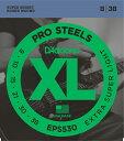 ●XL ProSteels Round Wound D'Addario製品の中でも最も磁力が高く、かつブライトなサウンドが特徴のエレキギター弦。 特殊な合金を使用することで、良質なハーモニーが実現し、クランチ、サスティンが飛躍的に向上します。 ●EPS530 Extra-Super Light 1st:PL008 2nd:PL010 3rd:PL015 4th:PSG021 5th:PSG030 6th:PSG038 〜 通信販売をご利用のお客様へ 〜 掲載商品売却の際、迅速にサイトから削除するよう心がけておりますが、 ショッピングページの更新にタイムラグが生じる場合がございます。 万一ご注文後に売切れとなっておりました場合は、誠に恐れ入りますがご容赦ください。 店舗での試奏やご購入をお考えの方は事前にTEL、またはメールにてご連絡いただければ確実です。 -------------------------------------------------------------------------------- 黒澤楽器店 G-CLUB SHIBUYA 〒150-0043 東京都渋谷区道玄坂2-29-17 Tel: 03-3462-0261(エレキギター) 03-3462-9211(アコースティックギター) 03-3462-0271(ベース) 営業時間:11:00〜20:00※土日は担当者不在のため、お問合せや発送は翌平日になる可能性がございますので、 ご了承くださいませ※
