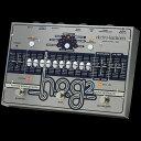 HOG2は同時に複数のオクターブ音とハーモニー音を生成するハーモニック・オクターブ・ジェネレーター/ギター・シンセサイザーです。単音でもアルペジオでも和音でも、プレイする全ての音に追従します。原音に対して10のハーモニー音/オクターブ音を作り出し、さらに7つのエクスプレッション・モードでコントロール可能です。付属のエクスプレッション・ペダルや一般的なMIDIコントローラー、本体のEXP.フット・スイッチでサウンドをリアルタイムにコントロールすることもできます。また、ギターに特別なピックアップやモディファイを施す必要もありません。 Specs ・10ハーモニー音/オクターブ音 (-2 Octaves/-1 Octave/Unison/+5th/+1 Octave/+1 Octave +5th /+2 Octaves/+2 Octaves +3rd/+3 Octaves/+4 Octaves) ・Envelopeセクション ハーモニーを2つ(Lower/Upper)に分けてそれぞれのDecay/Attackをコントロール可能 ・Filterセクション(Frequency/Resonanceコントロール) ・7 Exp.モード Octave Bend(ピッチを1オクターブアップ) Step Bend(ピッチを1音アップ) Volume(音量をコントロール) Freeze+Gliss(エフェクト音をフリーズしてドライ音を被せられます) Freeze+Vol(フリーズさせた音のVolumeをコントロール) Wah Wah Filter ・Exp. Reverse Switch ・Spectral Gate Switch ・100プリセット(フットコントローラー使用時)/120プリセット(MIDI使用時) ・Direct Output ・Exp. Pedal Input ・MIDI Input (プログラム・チェンジ/コントロール・チェンジ対応) ・Expression Pedal付属 ・Foot Controller Input(別売の専用フットコントローラーで操作可能) ・寸法:235mm(W) x 157mm(D) x 55mm(H) 1,050g ・電源:9V DCセンターマイナスアダプター JP9.6DC-200(付属) 〜 通信販売をご利用のお客様へ 〜 掲載商品売却の際、迅速にサイトから削除するよう心がけておりますが、 ショッピングページの更新にタイムラグが生じる場合がございます。 万一ご注文後に売切れとなっておりました場合は、誠に恐れ入りますがご容赦ください。 店舗での試奏やご購入をお考えの方は事前にTEL、またはメールにてご連絡いただければ確実です。 -------------------------------------------------------------------------------- 黒澤楽器店 G-CLUB SHIBUYA 〒150-0043 東京都渋谷区道玄坂2-29-17 Tel: 03-3462-0261(エレキギター) 03-3462-9211(アコースティックギター) 03-3462-0271(ベース) 営業時間:11:00〜20:00※土日は担当者不在のため、お問合せや発送は翌平日になる可能性がございますので、 ご了承くださいませ※↓その他エフェクターはこちら↓