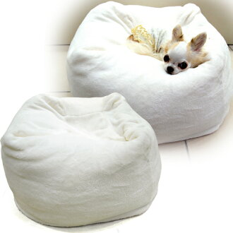 Vostok Marshmallow cushion white dog bed