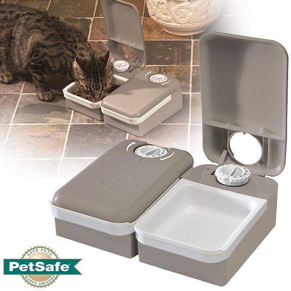 PetSafeおるすばんフィーダー2食分ペット用自動給餌器食器/犬用品/猫用品/ペット用品