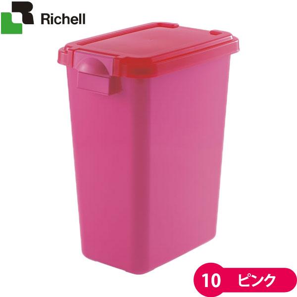 リッチェルペット用フードキーパー10ピンクフードストッカー・容器(ドッグフード/キャットフード)犬用