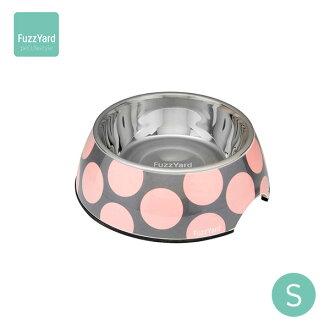 hottahabu FuzzYard食物盤子泡沫S粉紅[供狗餐具/狗的餐具/狗使用的餐具/食物盤子][狗用品/寵物·寵物商品/寵物用品][Outlet促銷]