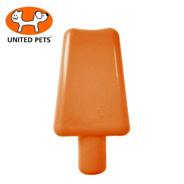 ユナイテッドペッツクールポップオレンジ犬のおもちゃ/犬用おもちゃ/ラテックス(ラバートーイ)/超小型