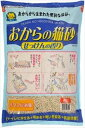 常陸化工 おからの猫砂せっけんの香り 6 L 【猫砂/ねこ砂...