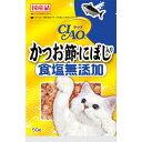 いなば チャオ かつお節 にぼし入り 食塩無添加 50g●かけても混ぜても美味しい猫用かつお節