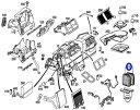 ベンツ W211 Eクラス/VEMO製 ACフィルター エアコンフィルター(内気/活性炭) 211-830-0818