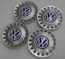 VW ニュービートル(1999年〜2005年)純正品 ホイールセンターキャップ新品 4枚 (1C0601149DGTT)
