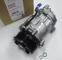 【1年保証付き】VW ポロ ルポ/HELLA製 エアコンコンプレッサー(クーラーコンプレッサー)新品(6N0820803C)
