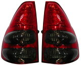 【送料無料】トヨタ ランクル ランドクルーザー 120系 プラド/LEDテールライト左右セット(スモーク/レッド)Ver.2新品