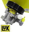 【1年保証付き/送料無料】LUK製 ステアリングポンプ ハイドロリックポンプ新品/ベンツ W221 W219 W211 (0054662001⇔0044669101)