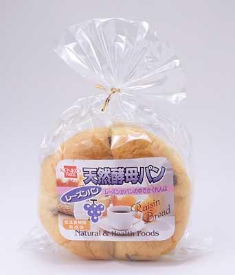 【健康フーズ】 天然酵母パン レーズン 1個【05P03Dec16】