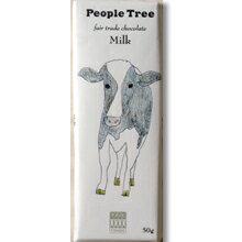 【People tree】 フェアトレード・チョコレート/ミルク 50g フェアトレードカンパニー (冬季限定品)【夏季6〜9月・クール便216円別途】【05P03Dec16】