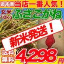 29年産【コシヒカリを超えたうまさ!!】ふさこがね玄米10kg 玄米食でも安心の選別済