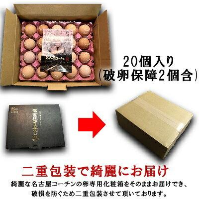 贈答用☆愛知が誇る高級ブランド卵☆名古屋コーチ...の紹介画像3