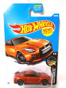 -17282OR HOT WHEELS ホットウィールズ BASIC CARS '17 NISSAN GT-R R35 ORANGE