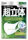 ユニチャーム 超立体マスク かぜ・花粉用 立体タイプ 大きめサイズ (7枚入) くすりの福太郎