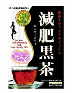 【◇】 山本漢方 減肥黒茶 黒茶+キャンドルブッシュ (15g×20バッグ) くすりの福太郎