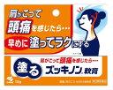 【第3類医薬品】頭痛・肩こりに 小林製薬 塗るズッキノンa軟膏 (15g) くすりの福太郎