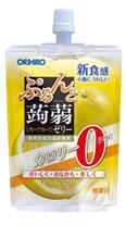 オリヒロ ぷるんと蒟蒻ゼリー カロリーゼロ 【グレープフルーツ】 (130g) くすりの福太郎