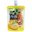オリヒロ ぷるんと蒟蒻ゼリー パイナップル (130g) パウチ 低カロリー 48kcal くすりの福太郎