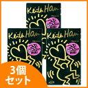 【ポイント10倍】 《セット販売》 サガミ キースへリング ドット 1000 (10個入)×3個セット コンドーム くすりの福太郎