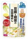 森永乳業 大満足ごはん 豆腐と根菜の五目釜めし 9ヵ月頃から (120g) 国産野菜100% くすりの福太郎